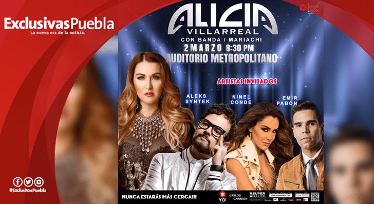 Alicia Villarreal se presentará en el Auditorio Metropolitano