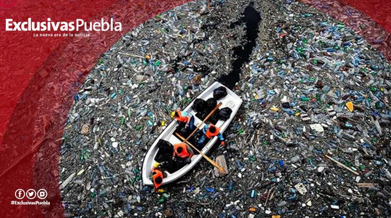 La isla de basura del Pacífico ya tiene tres veces el tamaño de Francia .