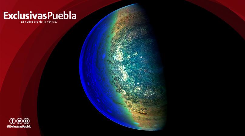 La NASA publica sorprendente imagen de la 'zona crepuscular' de Júpiter