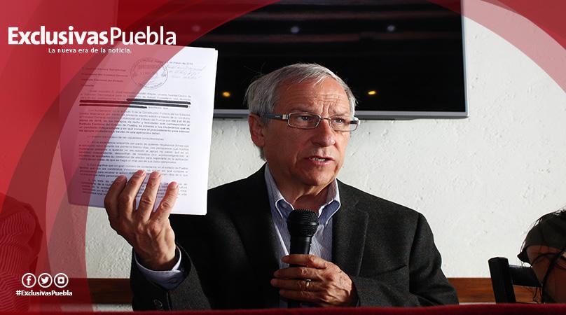 Enrique Cárdenas va como candidato independiente