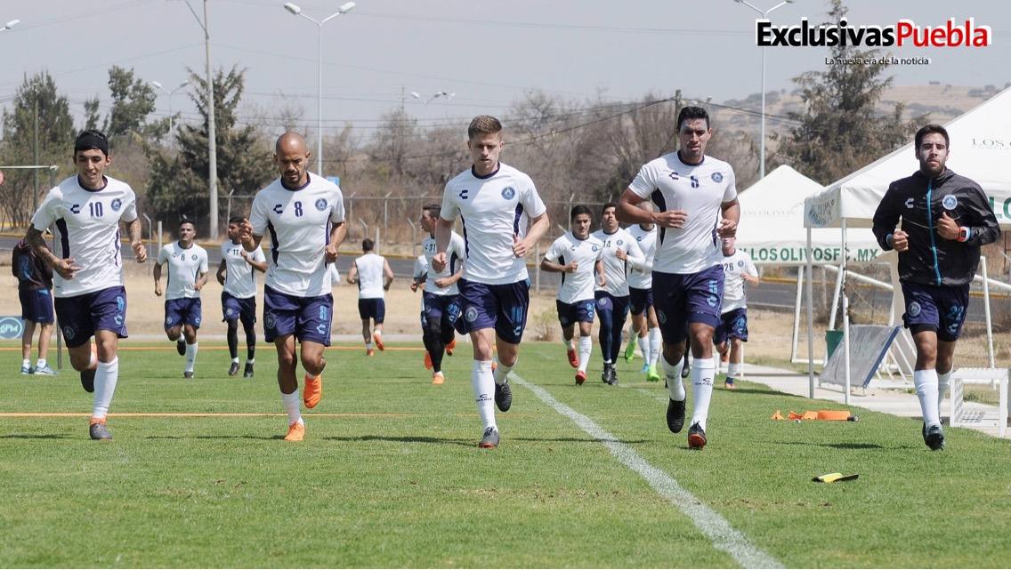 A fin de levantar la cara ante Pumas, trabaja el Club Puebla