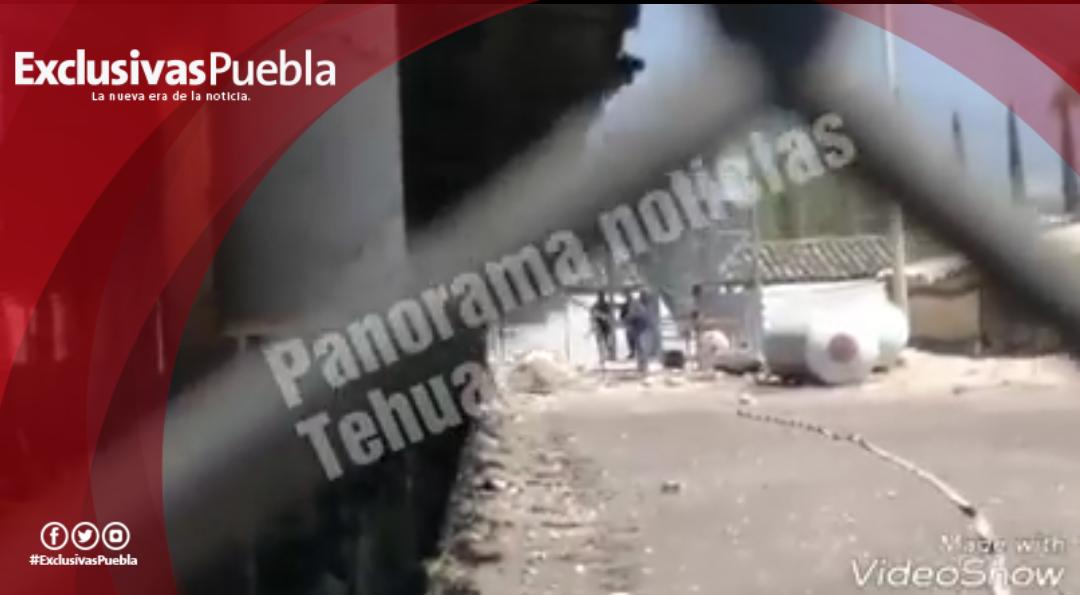 Más de 18 mil pollos murieron en la explosión registrada en Tehuacán.