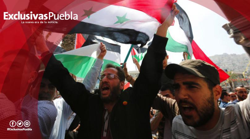 Acusa EU a Siria de haber usado gas cloro y sarín en el ataque a Duma