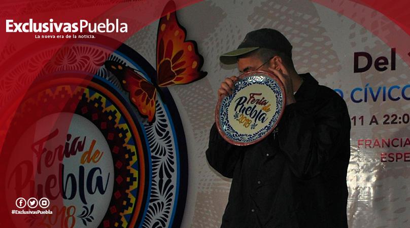 Bad Bunny le hace el feo a Puebla en la inauguración de la Feria