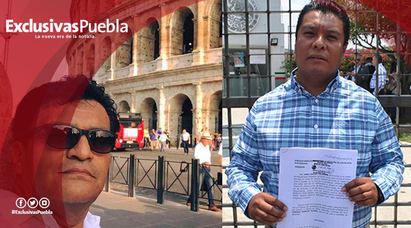 Denuncian a Eudoxio Morales ante la FEPADE