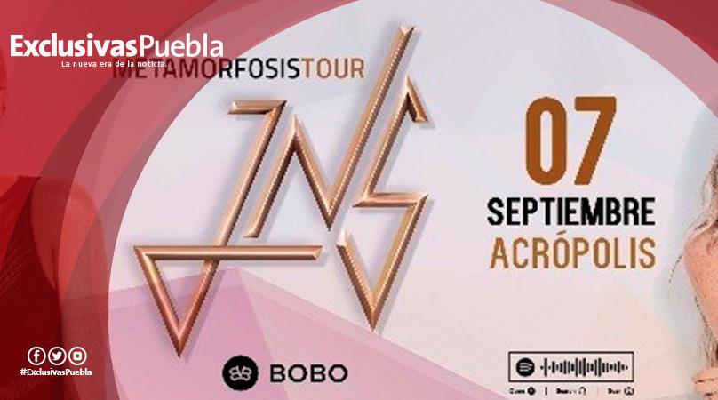 JNS se presentará en Acrópolis con Metamorfosis Tour