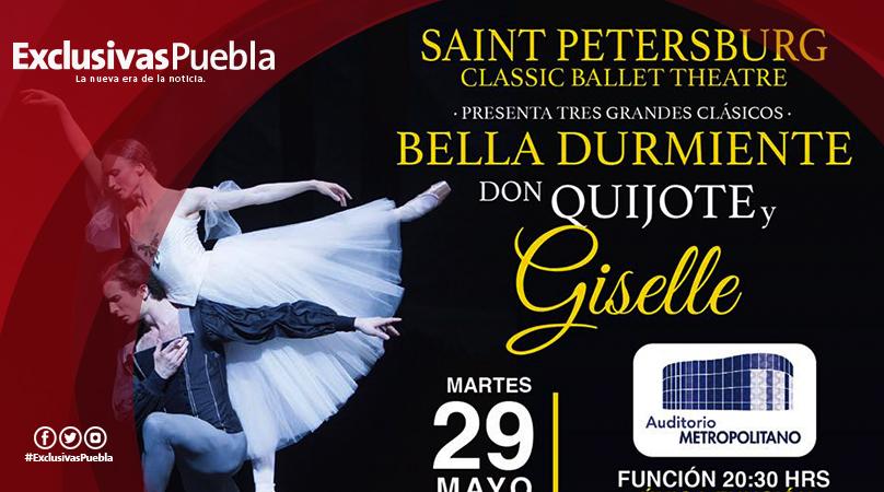 El Ballet Clásico de San Petesburgo llega a Puebla