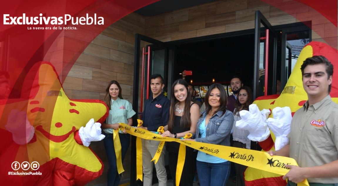En Zavaleta se abre nueva sucursal de Carl´s Jr