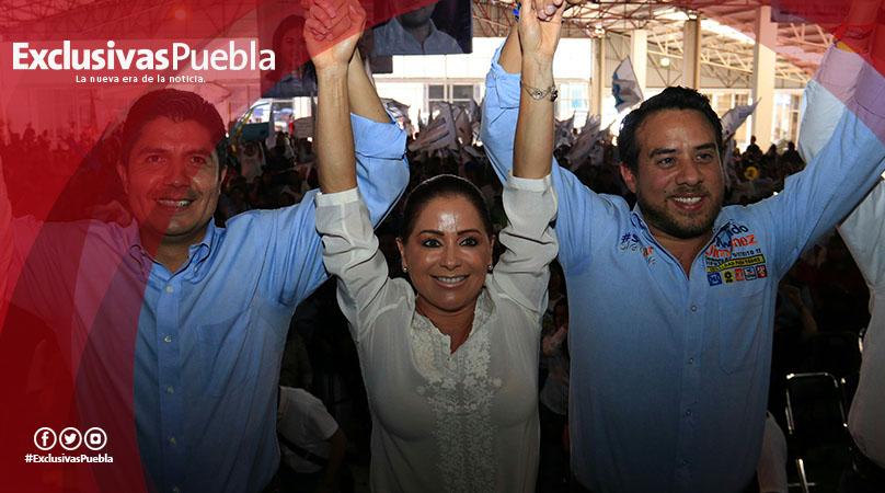 Dinorah López respalda campaña de Rivera Pérez
