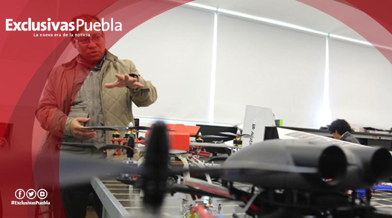 Diseñan en la BUAP vehículo no tripulado de ala fija para realizar monitoreo ambiental