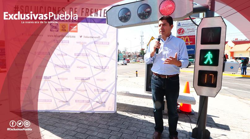 Creará Eduardo Rivera un centro de control de tráfico
