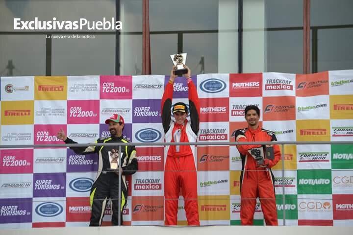 Buen fin de semana para Mariano del Castillo en el Gran Premio Pirelli