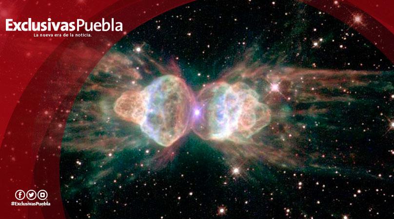 Nébula emite láseres, algo nunca antes visto