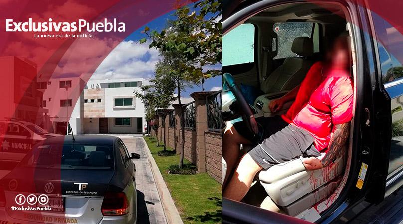 Abaten a narcomenudista a las puertas de su casa en Lomas de Angelópolis