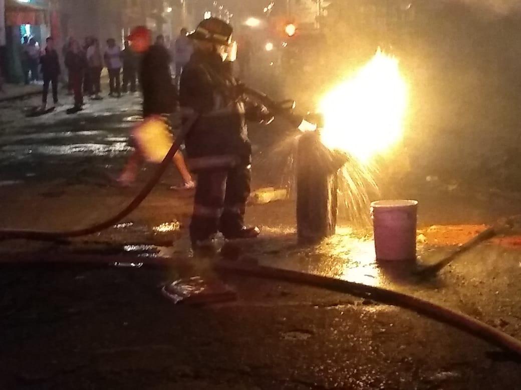 Bomberos sofocaron diversos incendios en la Capital poblana