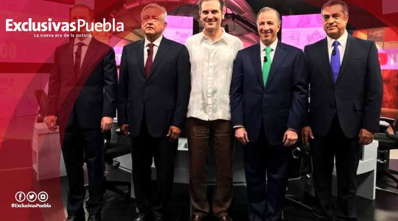Candidatos se dan con todo en el tercer y último debate presidencial