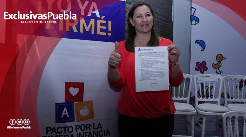 Firma Alonso Pacto por la Primera Infancia