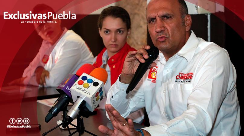 Exige Gabriel Chedraui a Luis Banck ser parejo en este proceso electoral