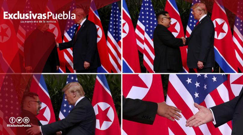 Trump y Kim firman un acuerdo conjunto al cierre de la histórica Cumbre de Singapur