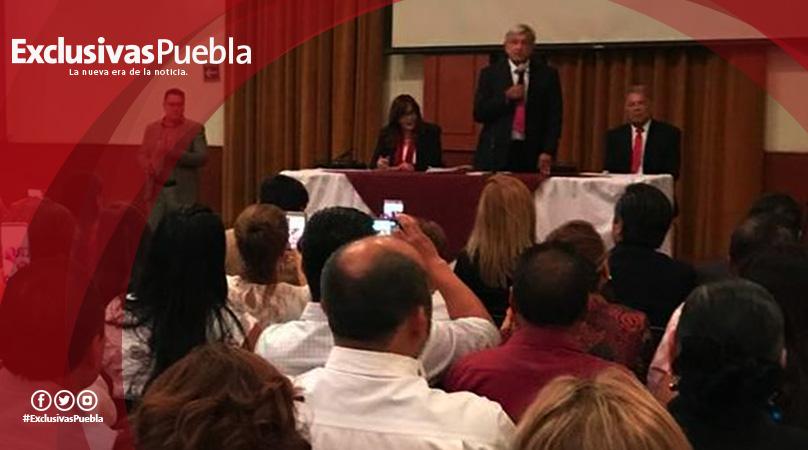 Asiste Luis Alberto Arriaga a encuentro de alcaldes electos con Andrés Manuel López Obrador