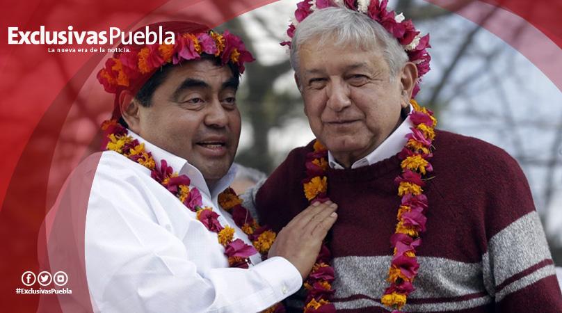 Para nosotros, el Gobernador de Puebla es Barbosa: AMLO