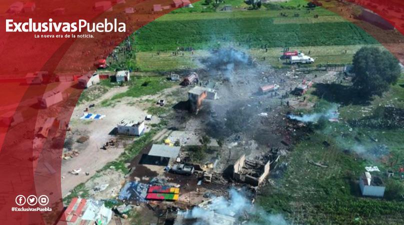 4 explosiones en Tultepec dejan decenas de muertos