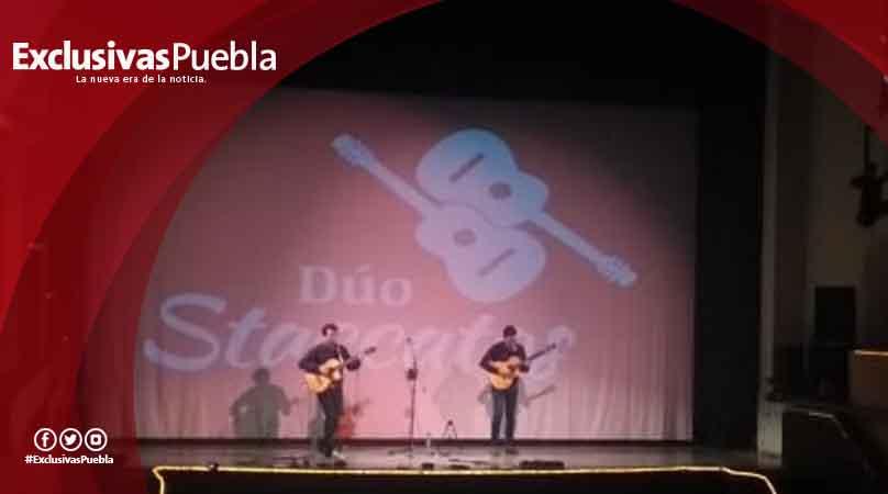 Dúo Staccatos se presentó con éxito en el Teatro de la Ciudad
