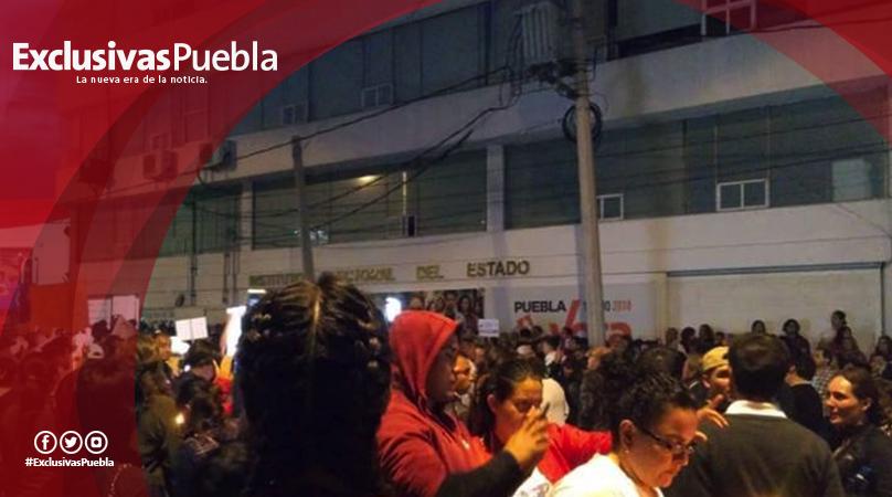 Presentan retraso en conteo 8 de los 26 distritos en Puebla