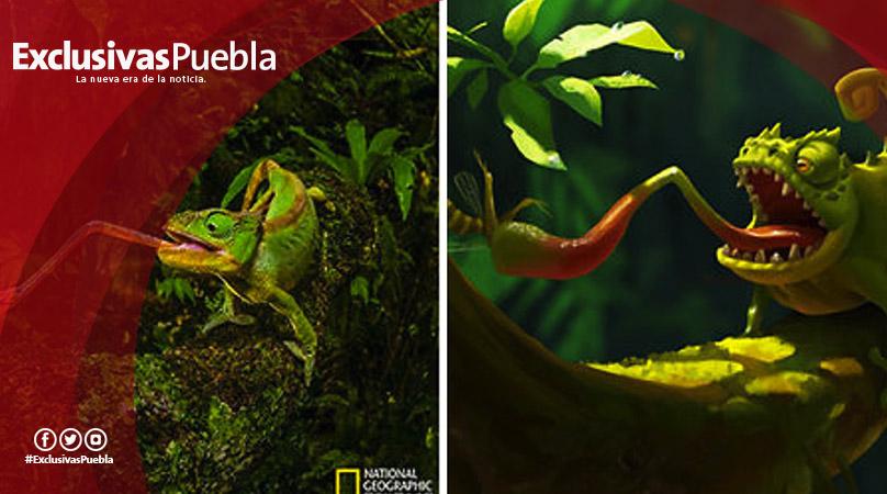 Artista convierte fotografías de National Geographic en ilustraciones que incluso Disney envidiaría