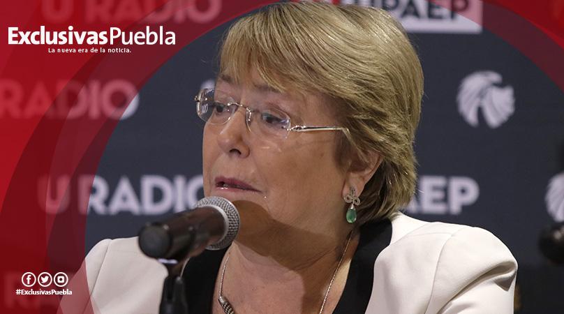Elecciones en México fueron ejemplares, declaró Michelle Bachelet en visita a Upaep