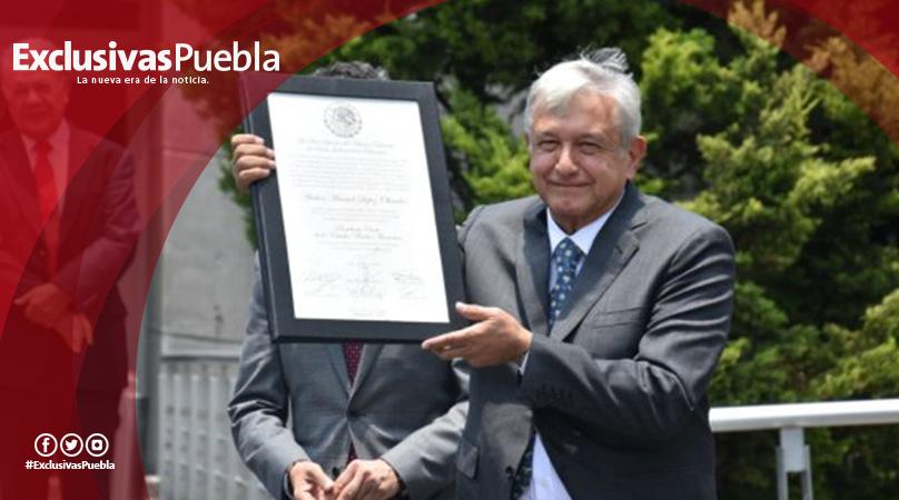 ¡Habemus Presidente! Tribunal califica y otorga constancia de mayoría a Andrés Manuel López Obrador