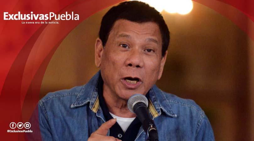 Rodrigo Duterte amenazó con matar a policías acusados de corrupción