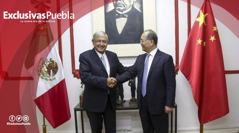 Sostiene AMLO reunión con embajador de China en México
