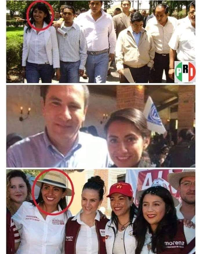 Priista, morenovallista y ahora morenista, así es la incongruencia de la alcaldesa de Huejotzingo - Periódico Exclusivas Puebla